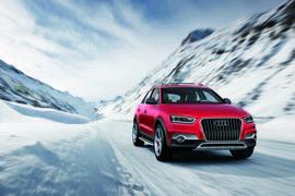 Audi Q3 Vail/Fahraufnahme