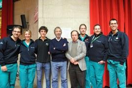 Dott. Chiara, Cereghini, Bagniaia, equipe Trauma Team