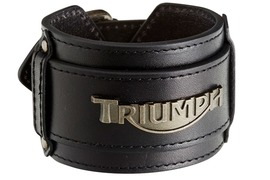 TRIUMPH_SS2014_BIKER LEATHER WRISTBAND_MENS