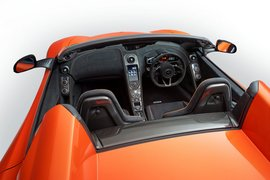 McLaren 650S Spider-apertura