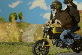 Ducati Scrambler _ video - plastilina
