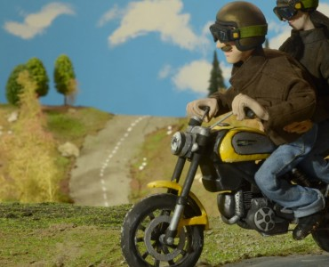 Ducati Scrambler _ video - plastilina