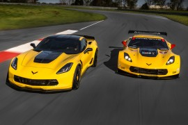 The 2016 Corvette Z06 C7.R Edition pays homage to the Corvette Racing race cars. Offered in coupe and convertible models, only 500 will be built – each with a unique, sequential VIN.