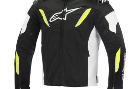TGP R WP_jacket_BLACK WHITE yellow fluo