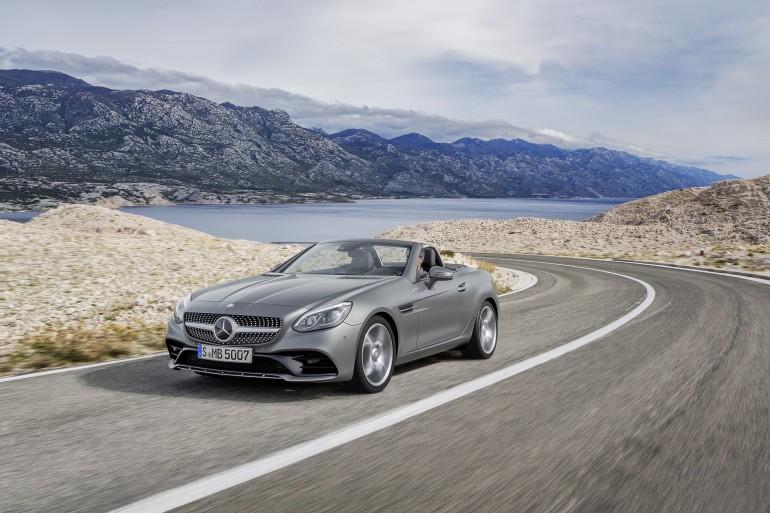 Mercedes-Benz SLC 300, designo cerrusitgrau magno, AMG Line Mercedes-Benz SLC 300, designo cerrusit grey magno, AMG Line
