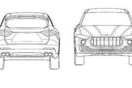Maserati Levante disegni