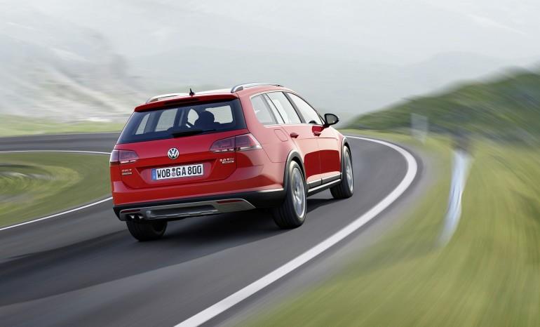Der neue Volkswagen Golf Alltrack