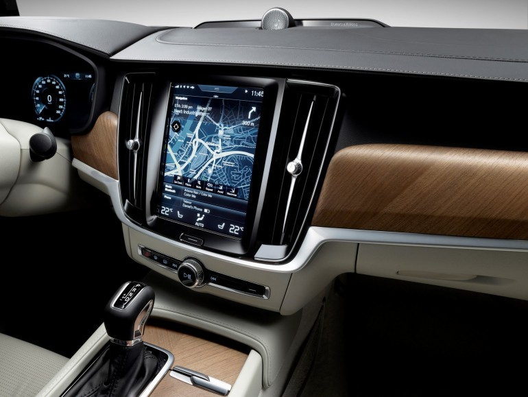 Interior Centrestack Right Volvo S90