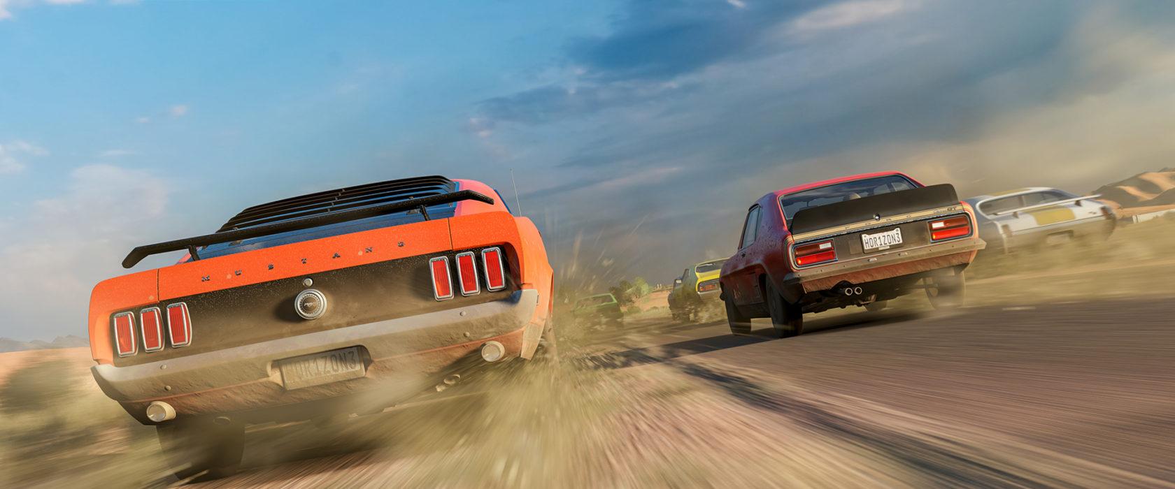 Forza Horizon 3 Dirt Road Mustang