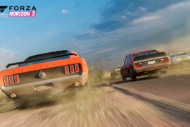 Forza Horizon 3 Dirt Road Mustang