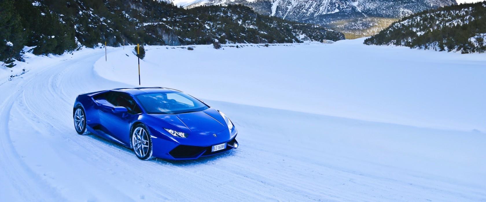 Lamborghini Huracan apertura