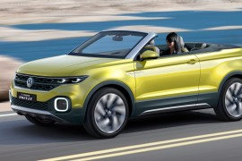 Die neue Volkswagen Studie T-Cross Breeze