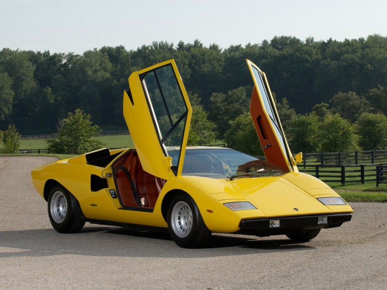 Lamboghini Countach LP400-002