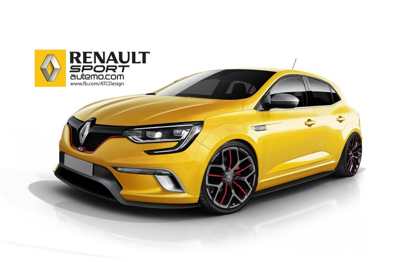 renault m gane rs 2017 rumors. Black Bedroom Furniture Sets. Home Design Ideas