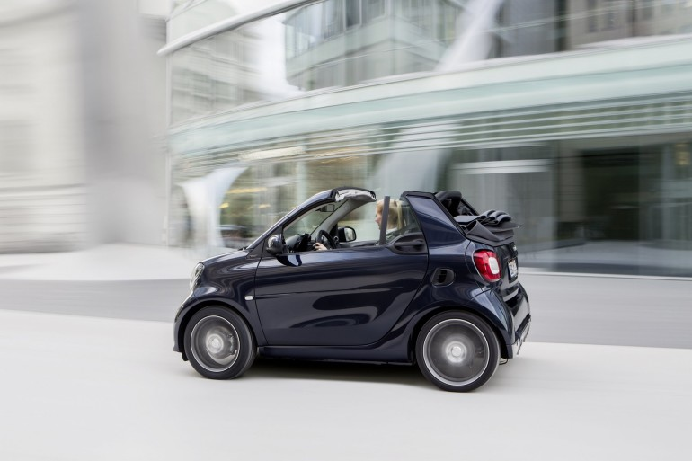 smart BRABUS cabrio Xclusive, 2016, tailor made dark blue shiny