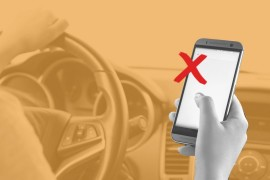 A New York bill would require drivers to hand over their phones to police after a crash so they can check if they had been texting while driving.