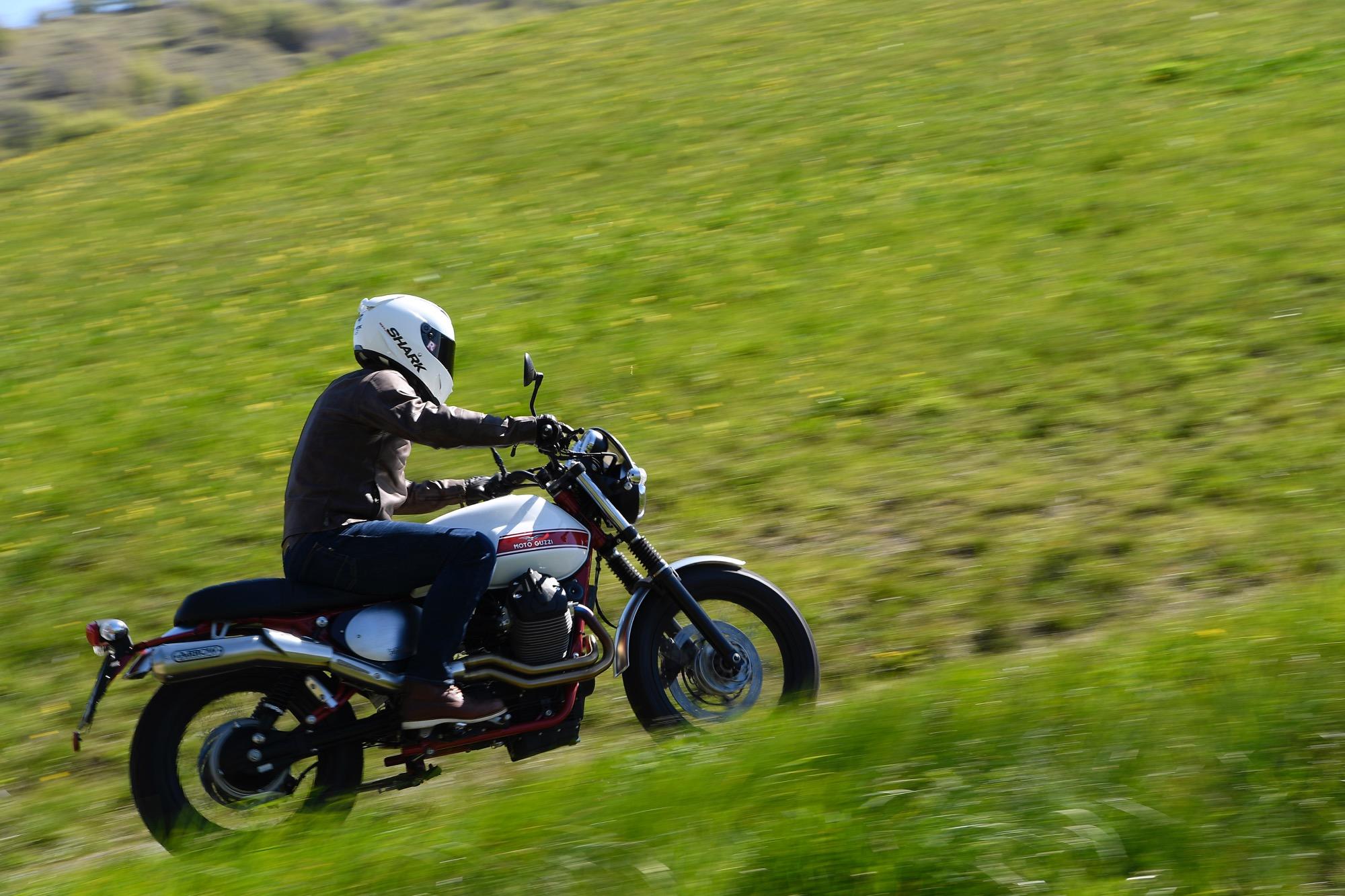 Prova Moto Guzzi V7 Stornello   Test