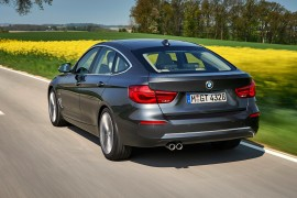 BMW 330i GT Luxury Arktikgrau