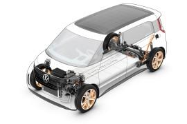 CES 2016 in Las Vegas ? Volkswagen Studie BUDD-e
