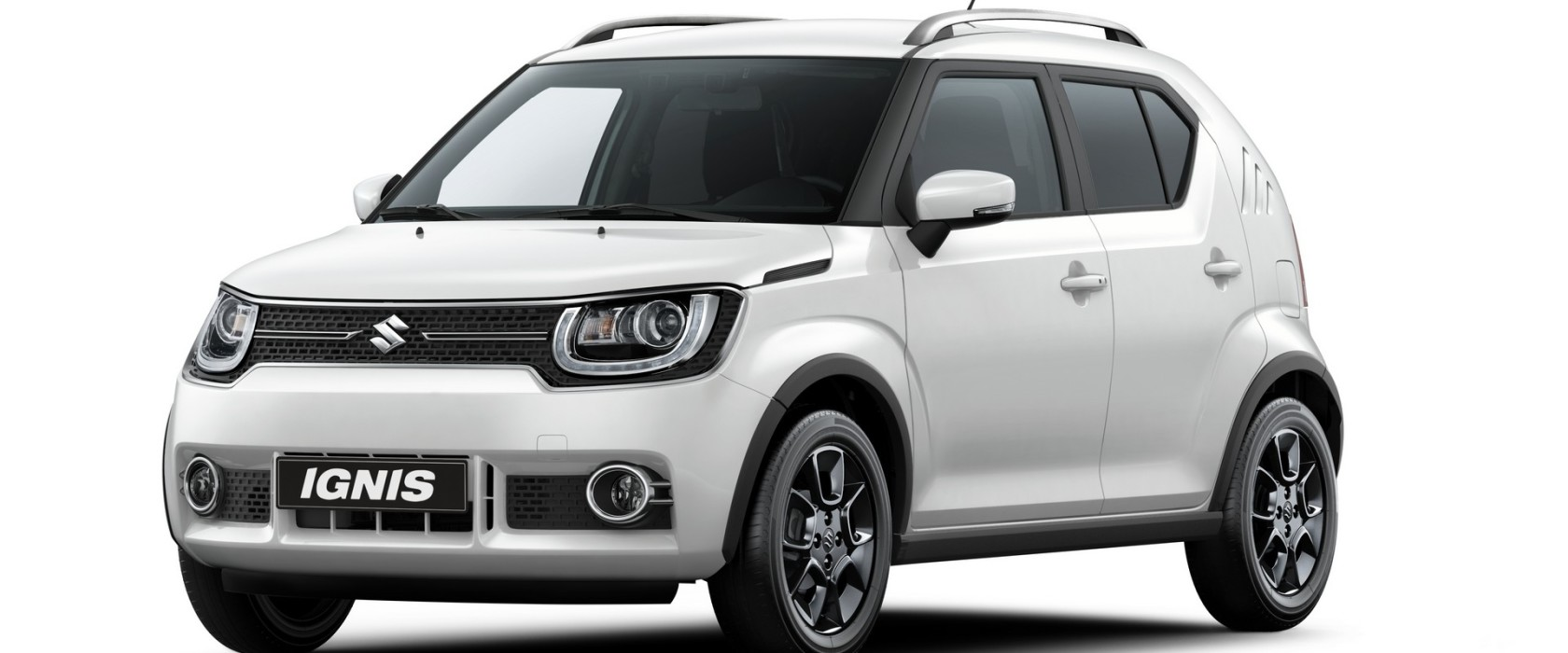 suzuki ignis 2017 il mini suv debutta a parigi red live. Black Bedroom Furniture Sets. Home Design Ideas