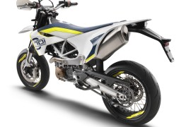 Husqvarna MY17 - 701 SUPERMOTO - left rear