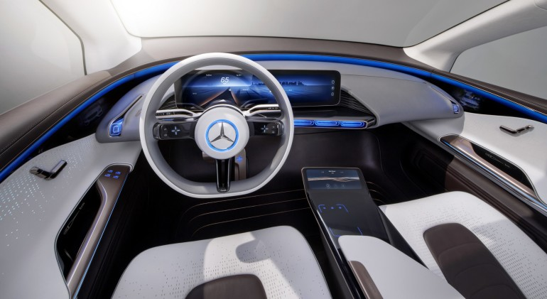 Generation EQ, Interieur, fahrerorientiertes Cockpit ; Generation EQ, interior, driver-oriented cockpit;