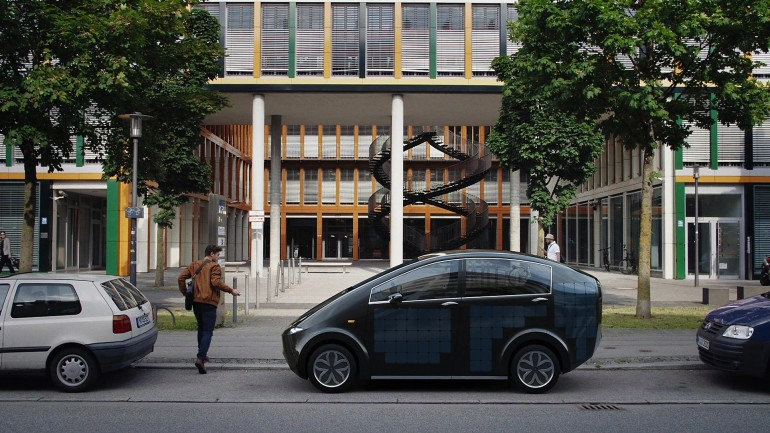 Sion Solar Car-001