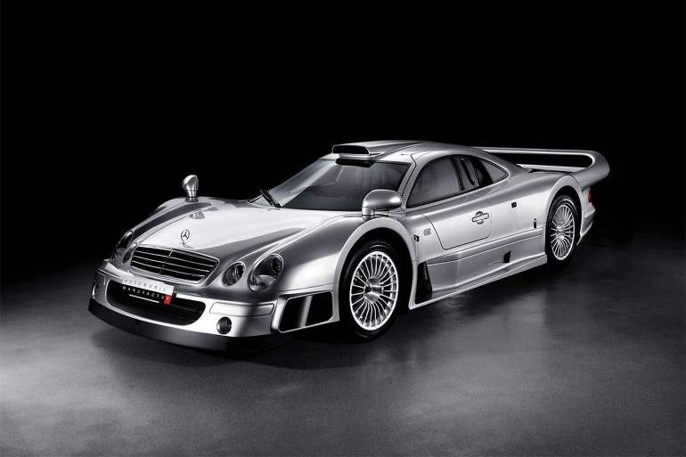 Mercedes CLK GTR Coupe