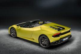 Lamborghini Huracán Spyder LP 580-2: scoperta posteriore