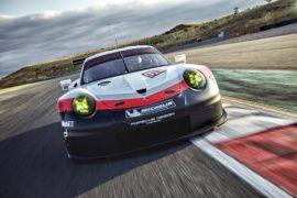 Porsche 911 RSR: la prima a motore centrale