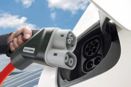Evolution of CCS charging technology for e-cars towards 350 kW