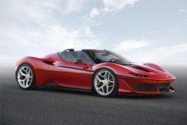 Ferrari J50: a me gli occhi