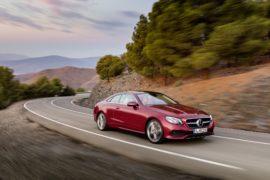 Mercedes-Benz Classe E Coupé: lo sport è hi-tech