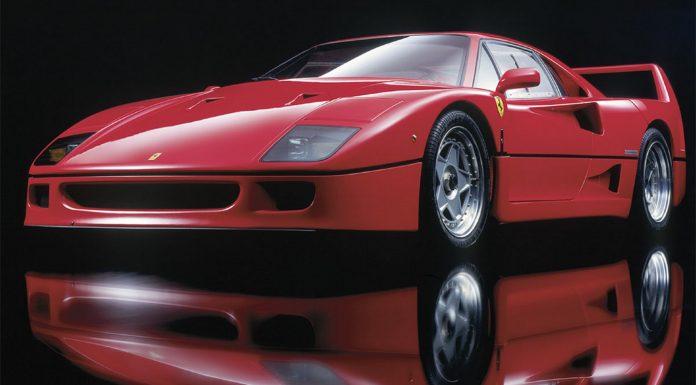 Ferrari F40 statica