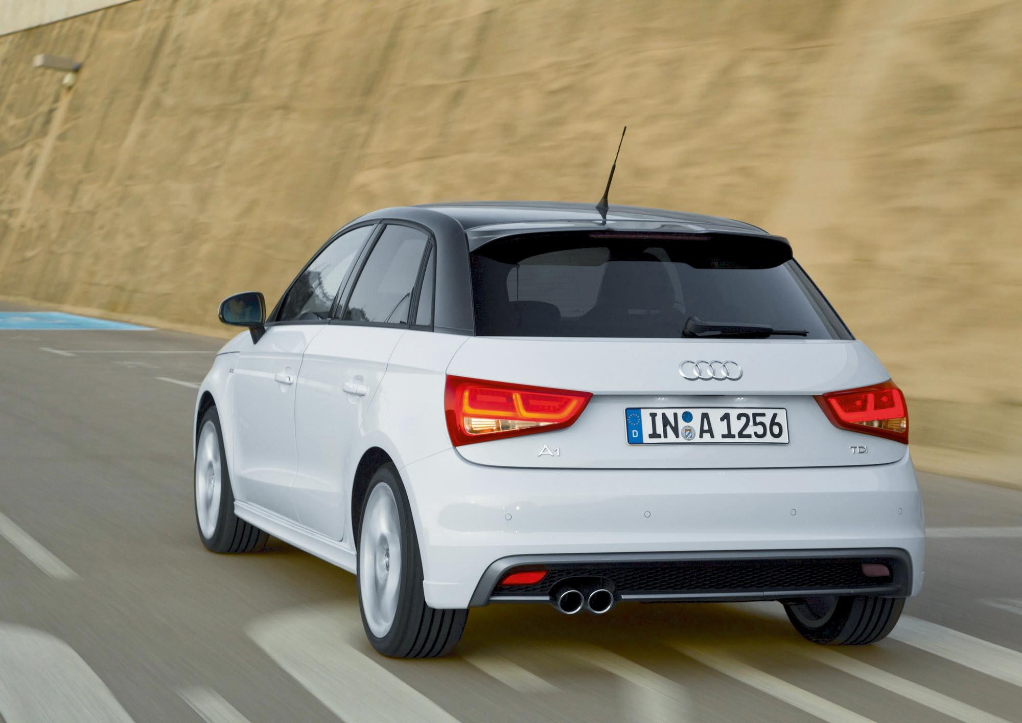 Audi A1 Sportback S line/Fahraufnahme