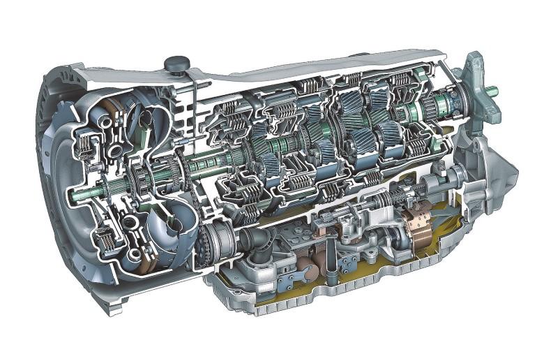 Mercedes-Benz 9-Gang Automatik 9G-TRONIC, 2013 Mercedes-Benz nine-speed automatic transmission