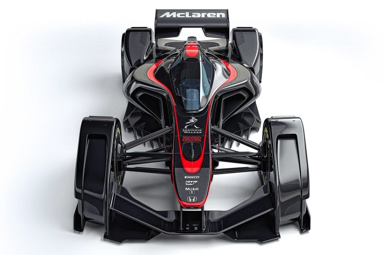 McLarenMP4X-005
