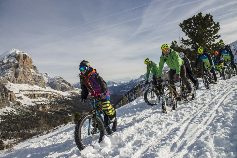 Fat Bike Cortina Giacomo Pompanin
