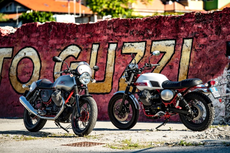 Moto Guzzi V7 II Stornello statiche - 14