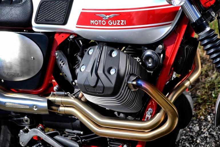 Moto Guzzi V7 II Stornello statiche - 5