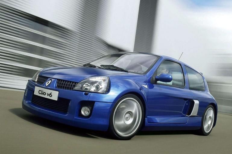 Renault Clio V6-001
