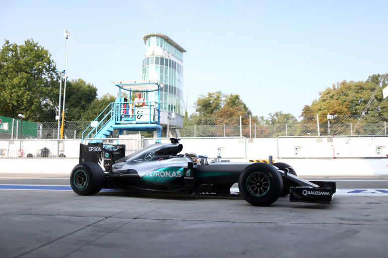 Formel 1 - MERCEDES AMG PETRONAS, Großer Preis von Italien 2016. Lewis Hamilton ; Formula One - MERCEDES AMG PETRONAS, Italian GP 2016. Lewis Hamilton;