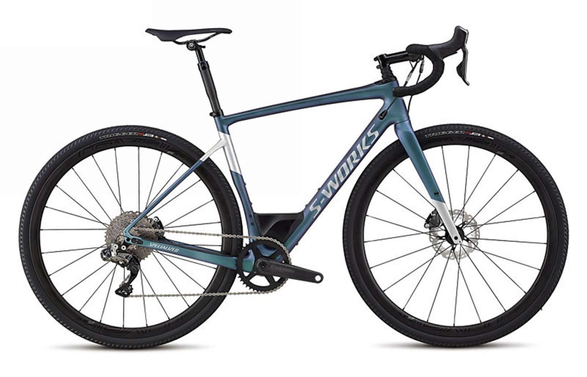 bicicletta gravel specialized diverge s-works, statica vista laterale