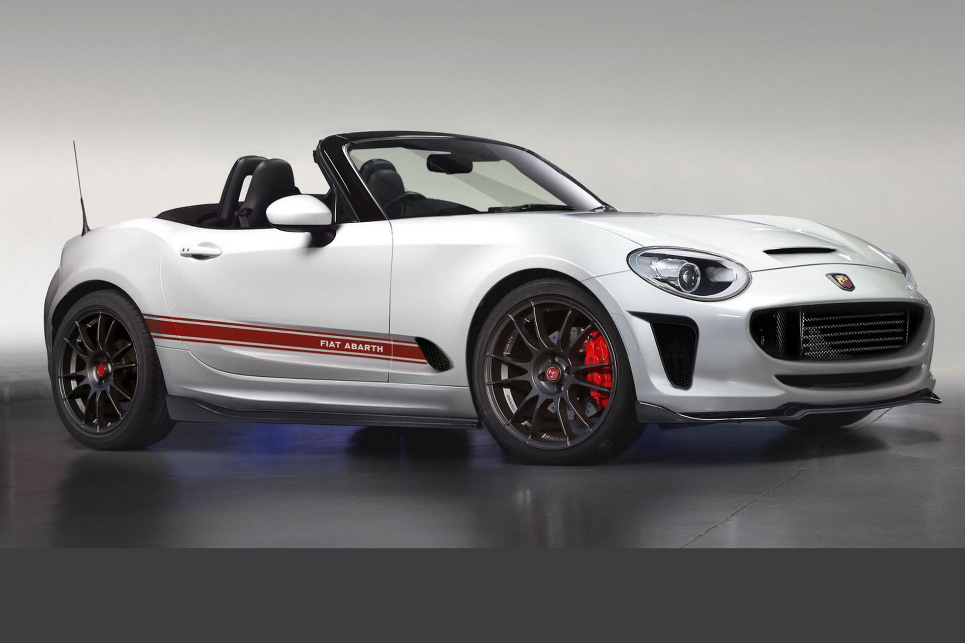 abarth 124 spider. Black Bedroom Furniture Sets. Home Design Ideas