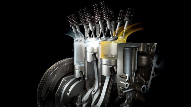 Ford EcoBoost valvole, cilindri e pistoni