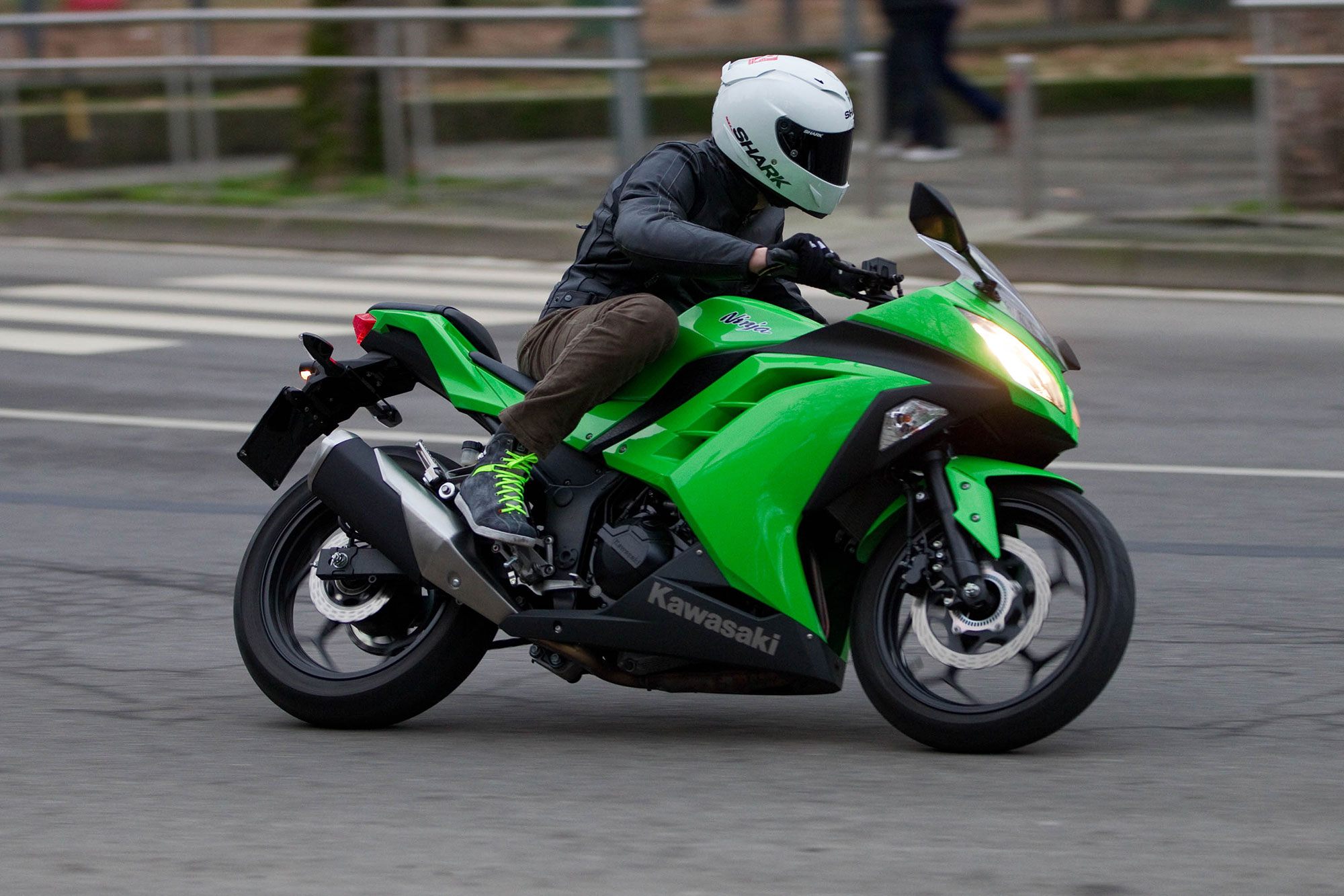 Prova Kawasaki Ninja 300