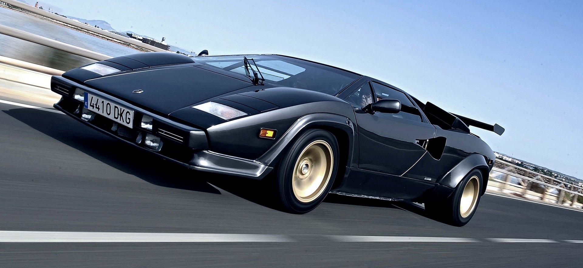 La Storia Della Lamborghini Countach