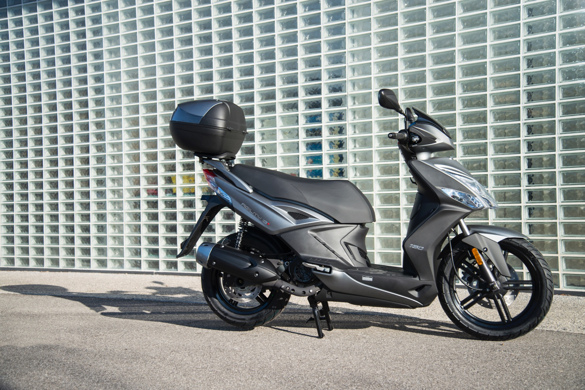 kymco agility 150i r16+ abs - red live
