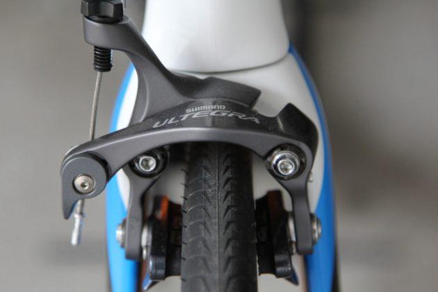 Wilier Cento10Air particolare freno anteriore direct mount