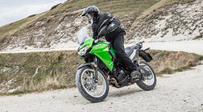 Kawasaki Versys 300 X dinamica fuoristrada